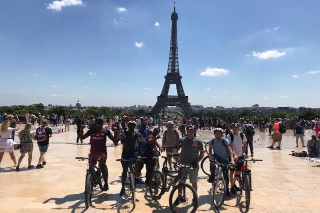 Découverte de Paris à vélo le weekend